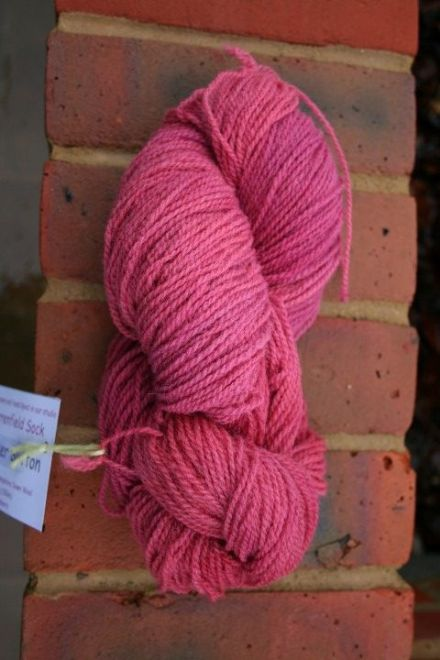 Warrenfield Sock Wool Raspberry